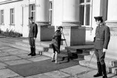 Prezydent Charles de Gaulle w Polsce. 1967. Belweder- rezydencja de Gaulle'a
