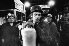 01a  Gornicy kopalni Wieczorek, Katowice 1974