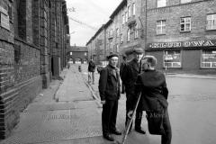 05  Gornicy kopalni Wieczorek, Katowice 1974 Osiedle gornicze Nikiszowiec