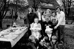08  Gornicy kopalni Wieczorek, Katowice 1974  Spotkanie rodzinne z okazji  1 Maja