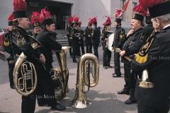 09  Gornicy kopalni Wieczorek, Katowice 1974  Orkiestra kopalniana