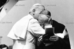 02 Jan Paweł II i Kardynał  Stefan Wyszyński, I wizyta Papieża w Polsce, 1979