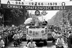 03 Papież Jan Paweł II , I wizyta w Polsce, Warszzwa, 1979