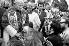 Papież Jan PawełII . Pierwsza wizyta w Polsce  Częstochowa 1979