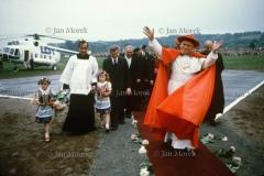 06 Papież Jan Paweł II przybywa  do Krakowa, 1979