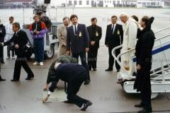 Jan Paweł II przybywa do Koszalina, 1991
