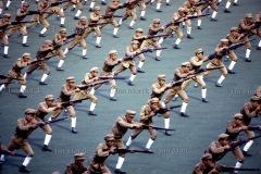 Ćwiczenia militarne na pokazie z okazji wizyty Wojciecha Jaruzelskiego, 1986