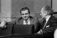 04   Mieczysław JagielskiMieczysław Moczar na posiedzeniu Sejmu  w tydzień po rejestracji Solidarności , wrzesień 1980