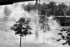 Stan wojenny, druga rocznica porozumień sierpniowych, Warszawa, 1982
