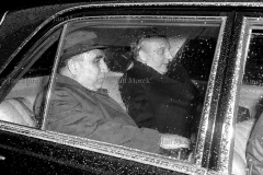 Układ Warszawa-Bonn w sprawie uznania granic PRL. 1967. Ministrowie Walter Schell i Stefan Jędrychowski