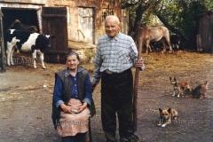 05  Malzenstwo rolnikow prowadzacych gospodarstwo samowystarczalne, produkujace tylko na wlasne potrzeby. Jasieniec k. Grojca, 1986